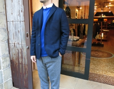 HARRIS WHARF LONDON / MAN JACKET