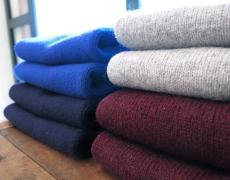 Nor'easterly / Men's Shetland Crewneck Sweater