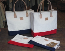 HERITAGE LEATHER CO. / Tote Bag / Clutch Bag