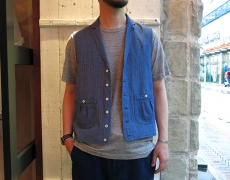 FRANK LEDER / BLUE LINEN COLLECTION