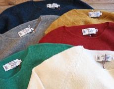 Nor'easterly / Shetland Wide Neck Knit