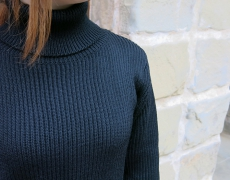 VINCENT ET MIREILLE / TURTLE NECK SWEATER