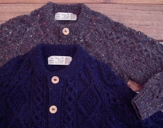 Athena Designs / hand knit cardigan