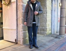 EEL / AURORA MAN COAT  / AURORA MAN D COAT