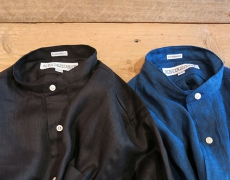 INDIVIDUALIZED SHIRTS / Low Band Coller Shirt