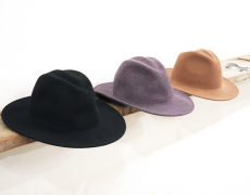 Crushable Fine Felt Hats