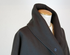 Honnete / Shawl Collar Wide Coat / B.Moss Velvet Cardigan