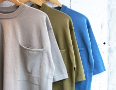 crepuscule / Pocket Knit S/S