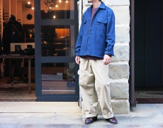 INDIVIDUALIZED SHIRTS / TIBETAN MARKET 別注 VINTAGE DENIM