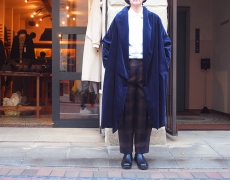 Honnete / Shawl Collar Padded Robe