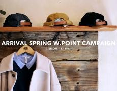 ARRIVAL SPRING W.POINT CAMPAIGN