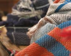 tamaki niime / roots shawl