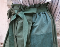 ARTE POVERA / US MILITARY REMAKE SKIRT