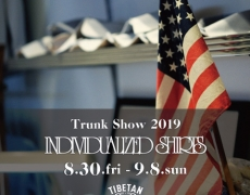 INDIVIDUALIZED SHIRTS / TRUNK SHOW