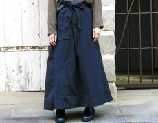 ARTE POVERA / German army MIX RE Skirt