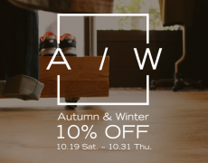 Autumn&Winter 10% OFF