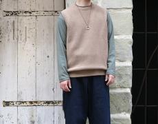 crepuscule / Moss Stitch Knit Vest