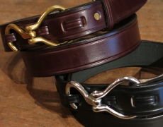 TORY LEATHER / Hook Buckle Belt