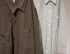 ARTE POVERA / Wool Work Shirts Long