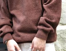crepuscule / Cotton Mole Knit