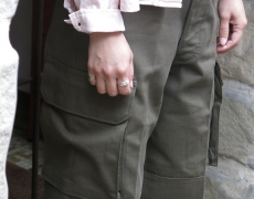 ORDINARY FITS SURPLUS / M-47TYPE CARGO PANTS